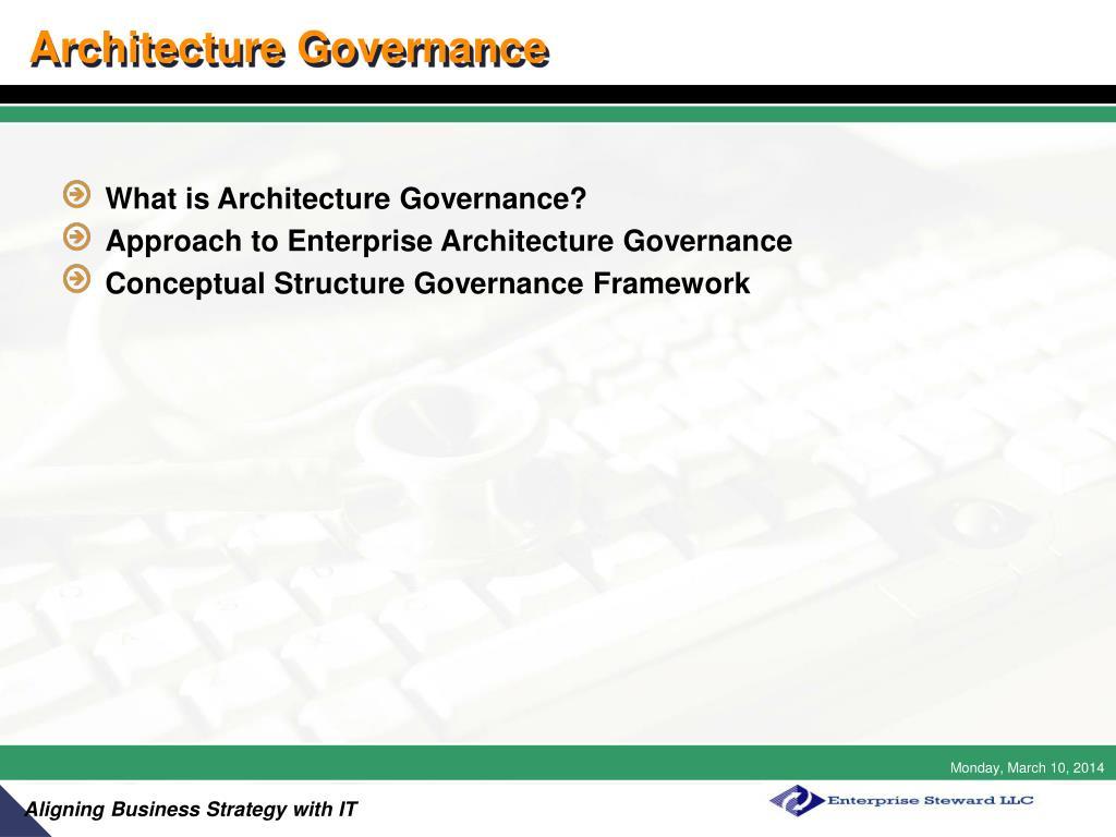 Architecture Governance
