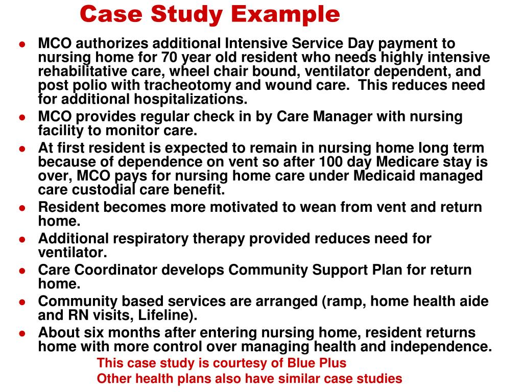 Case Study Example