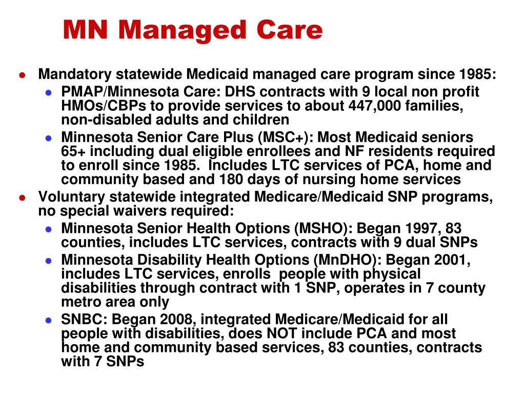 MN Managed Care