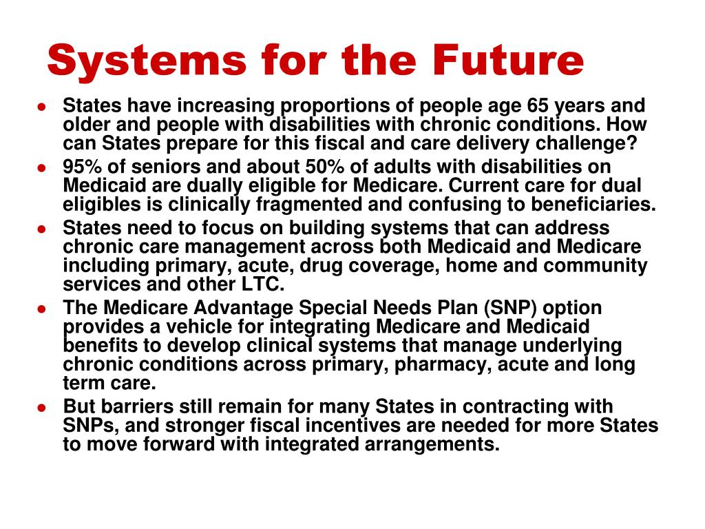 Systems for the Future