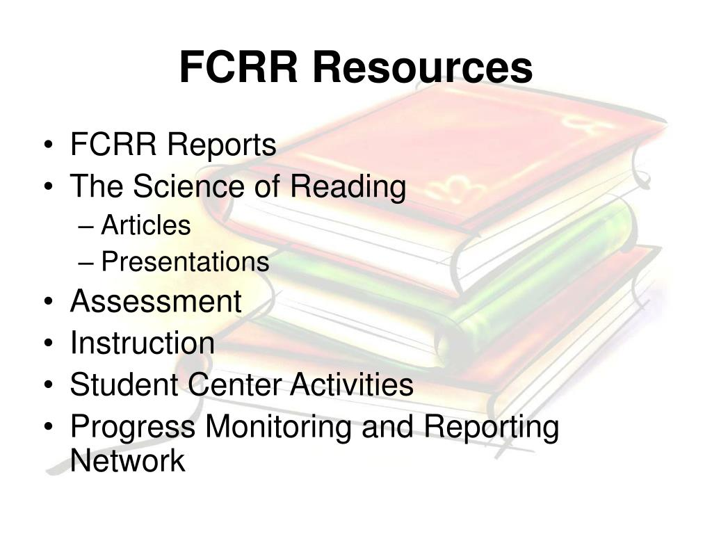 FCRR Resources