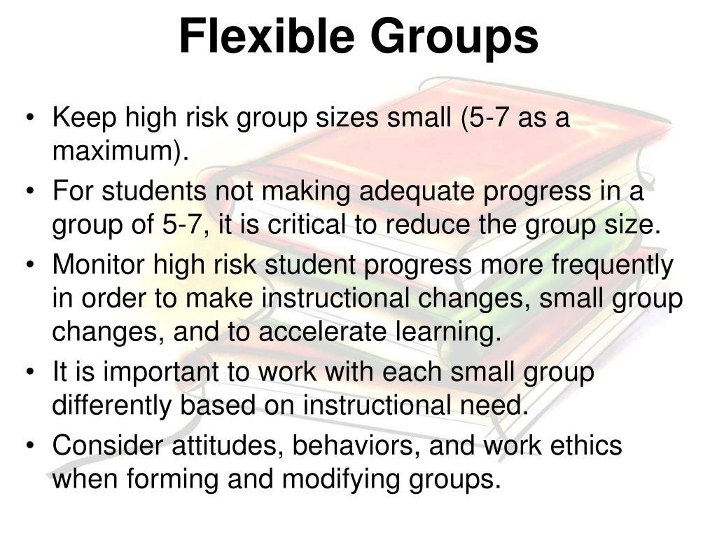 Flexible Groups
