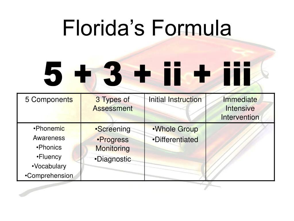 Florida's Formula
