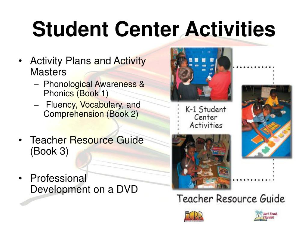Activity Plans and Activity Masters