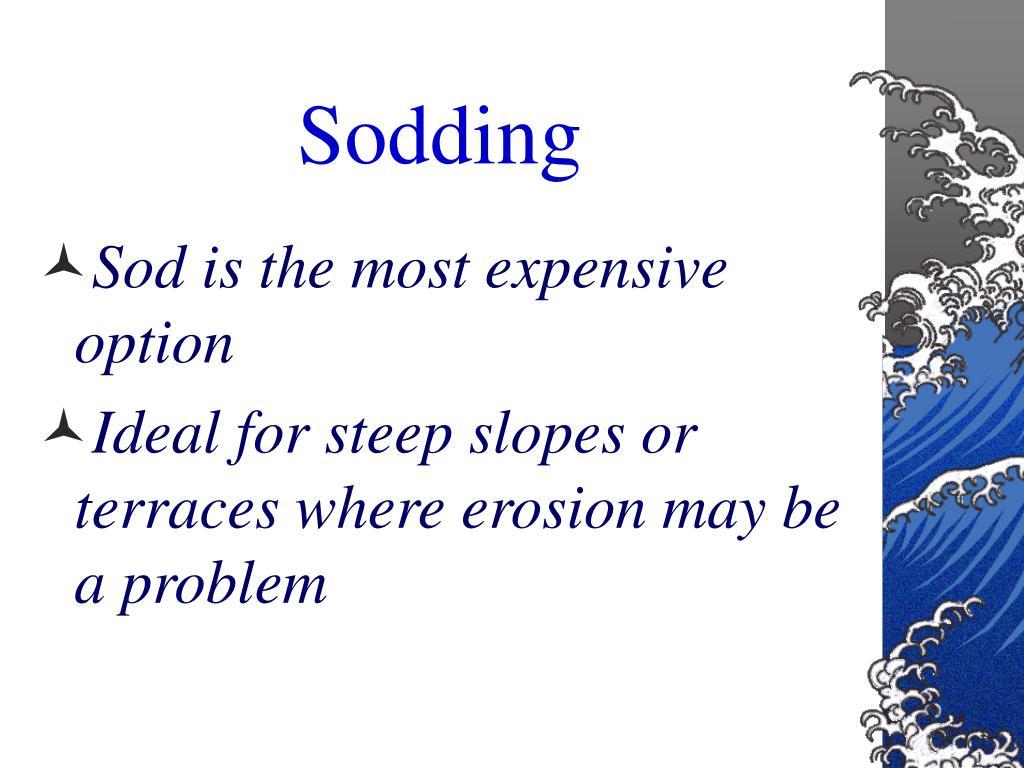 Sodding