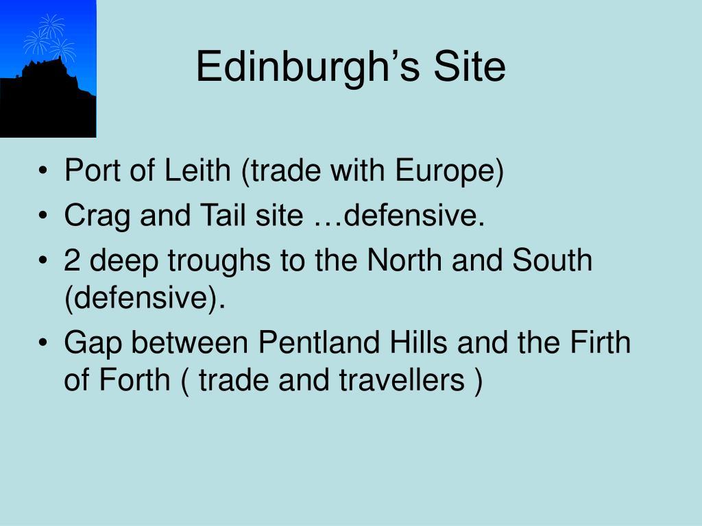 Edinburgh's Site
