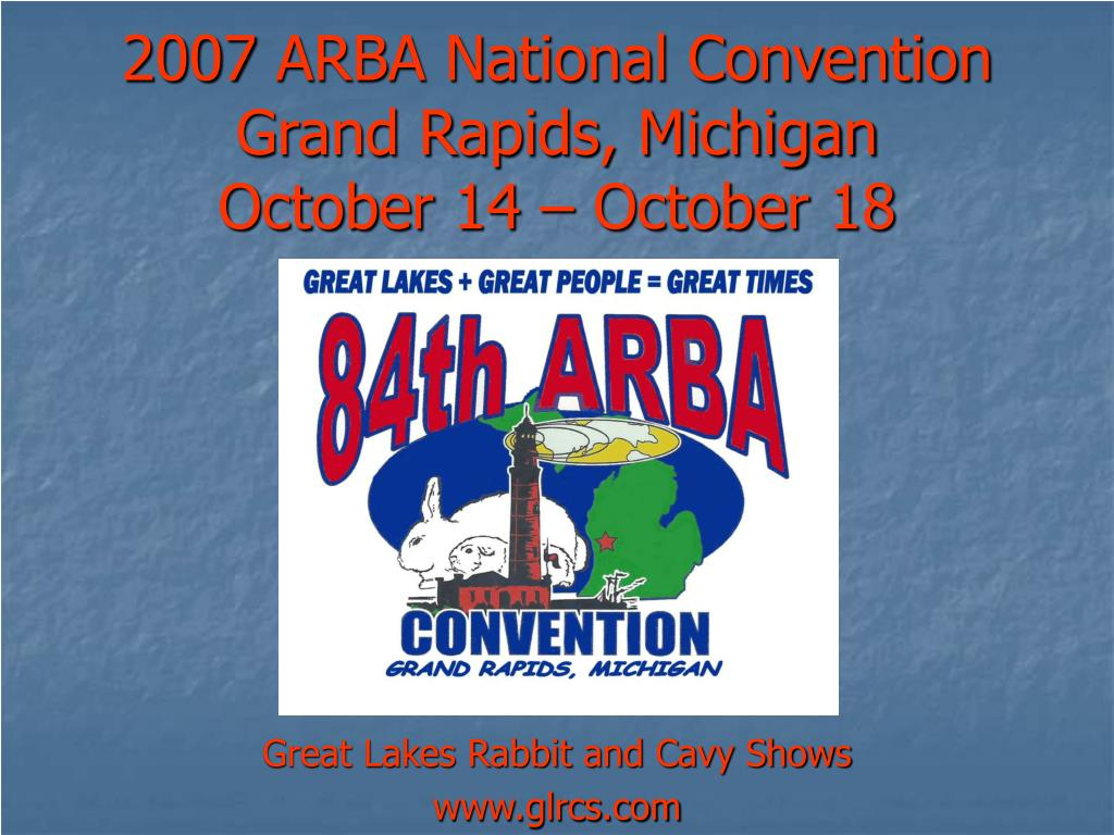 2007 ARBA National Convention