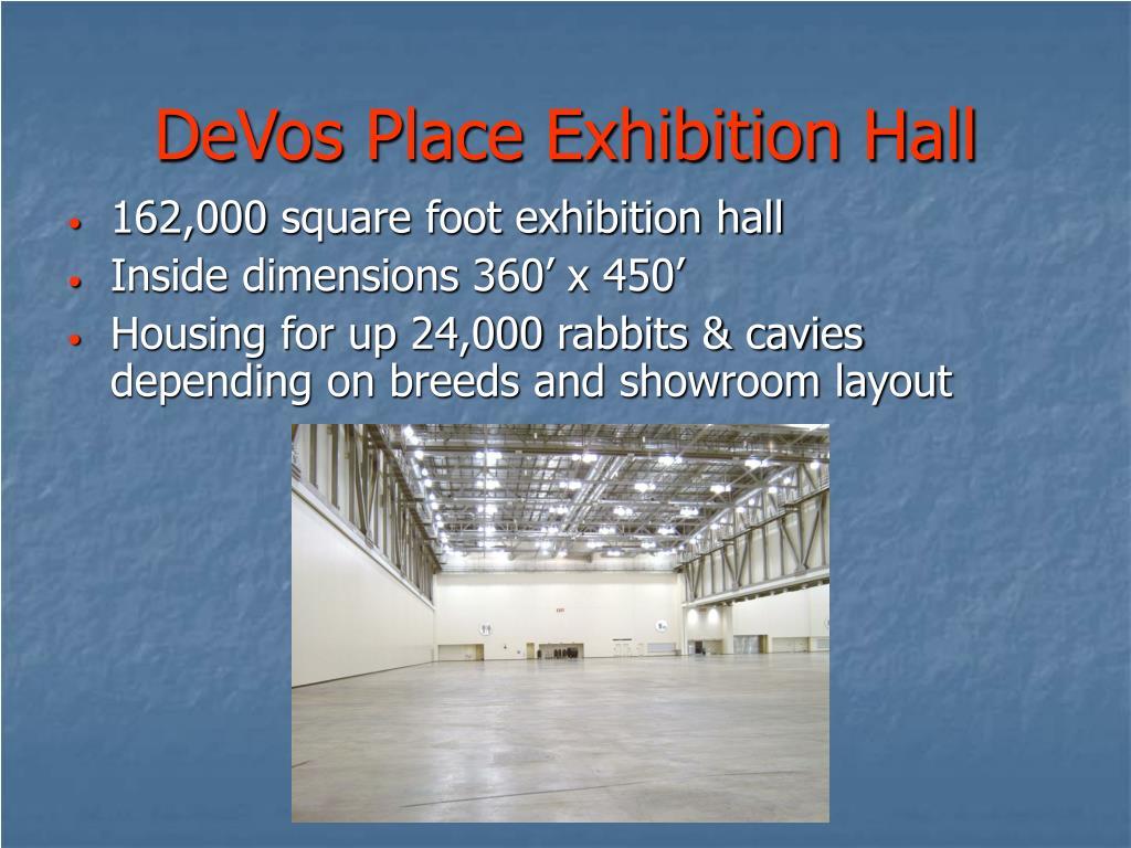 DeVos Place Exhibition Hall