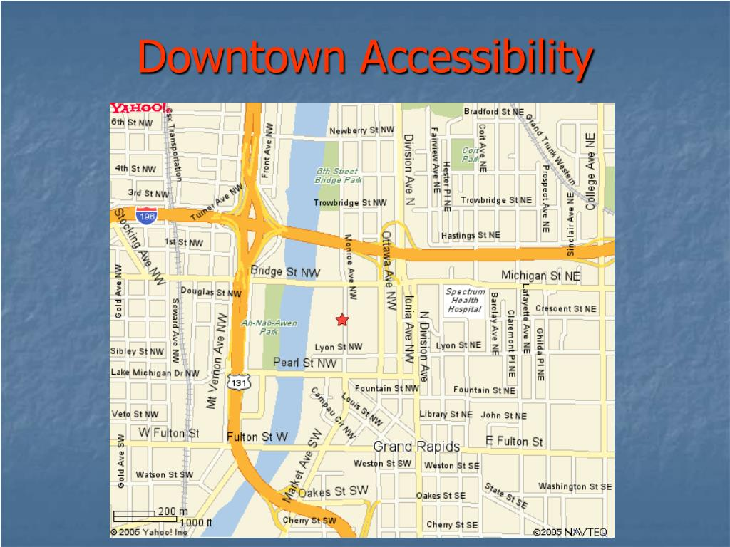Downtown Accessibility