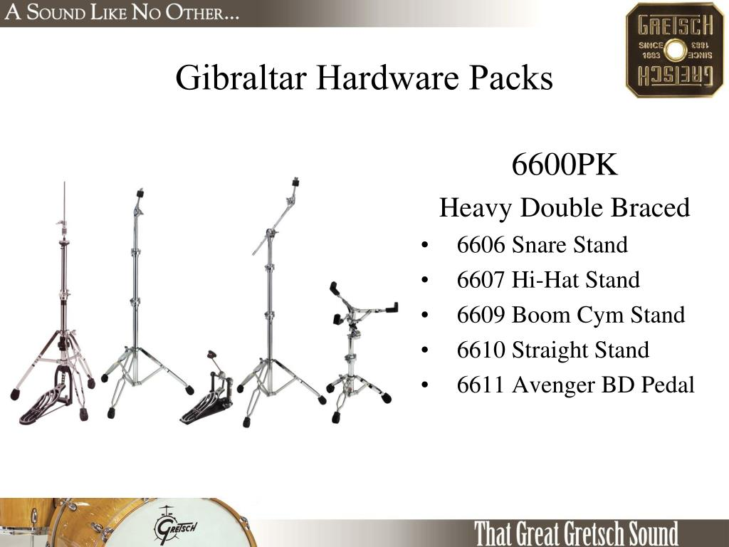 Gibraltar Hardware Packs