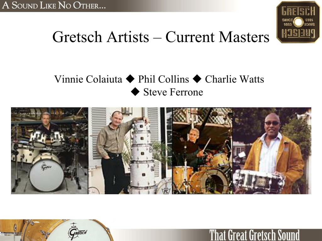 Gretsch Artists – Current Masters