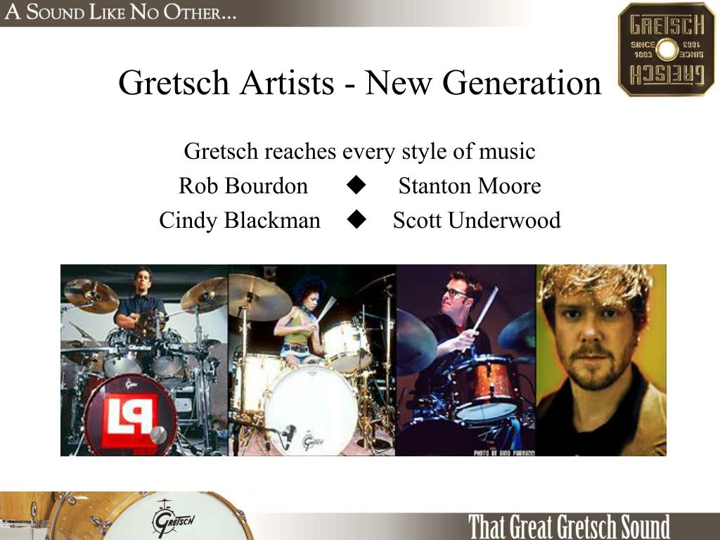 Gretsch Artists - New Generation