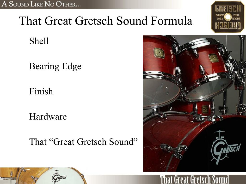 That Great Gretsch Sound Formula