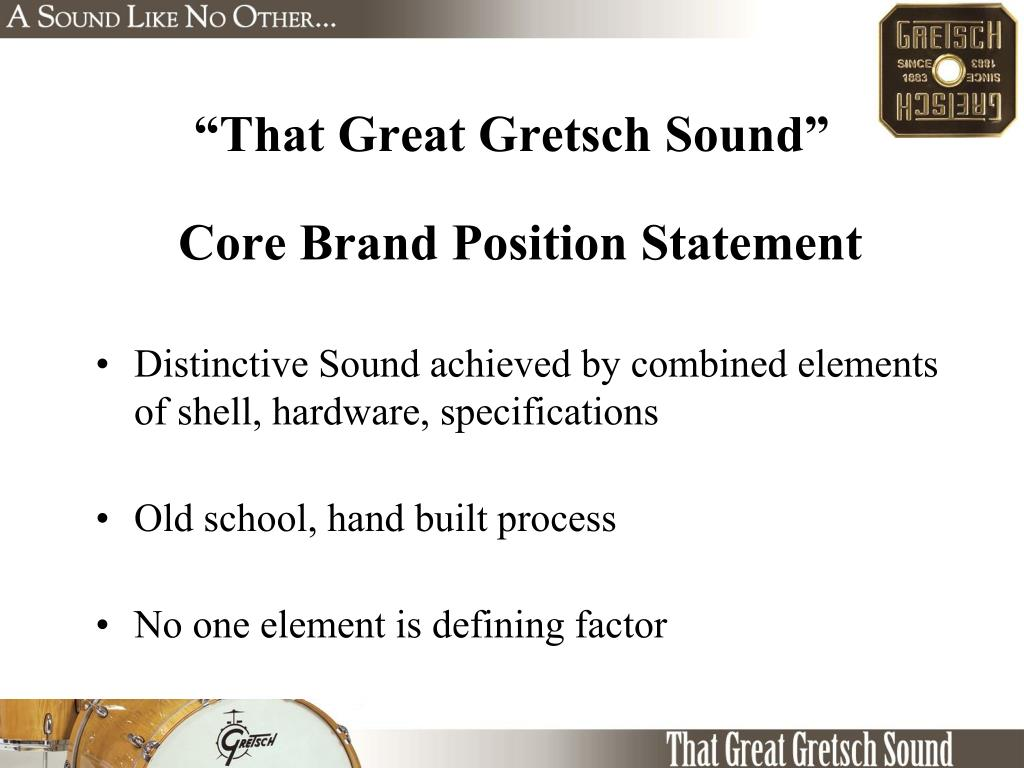 """That Great Gretsch Sound"""