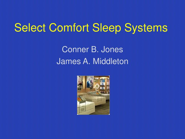 Select comfort sleep systems l.jpg