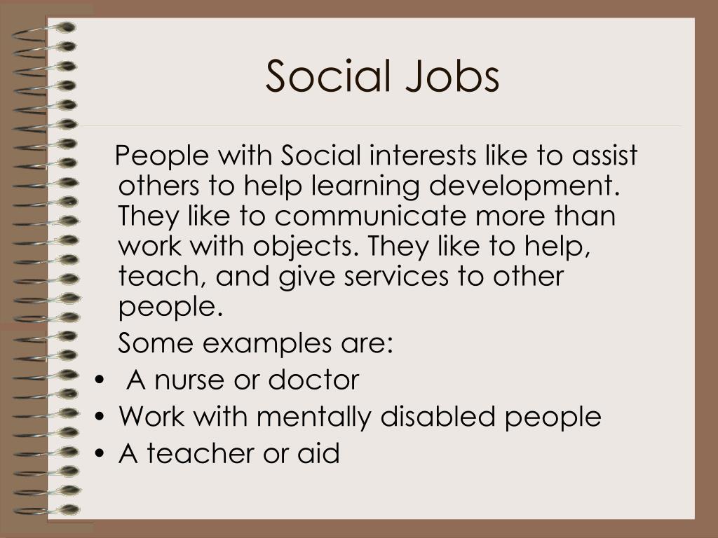 Social Jobs