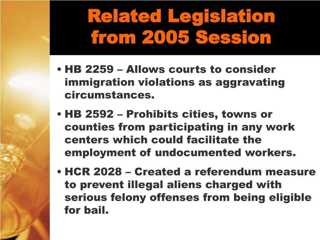 Related Legislation from 2005 Session