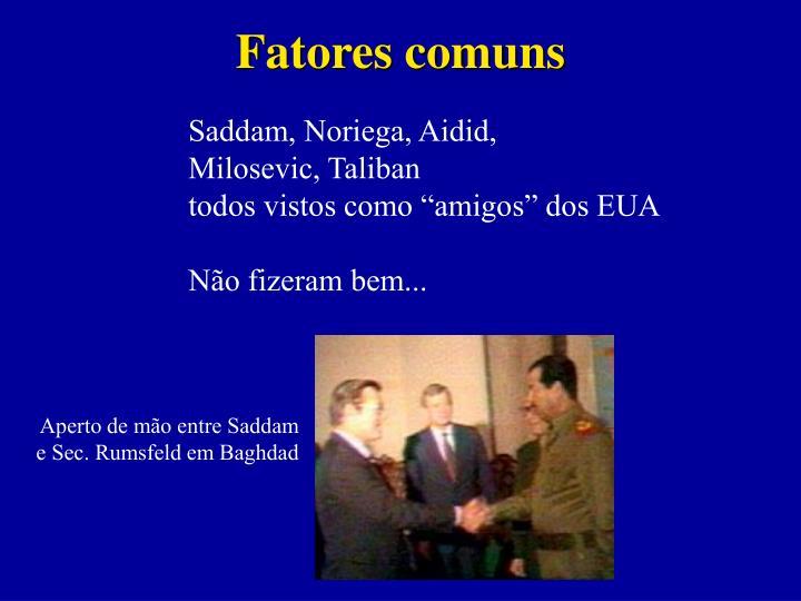 Fatores comuns