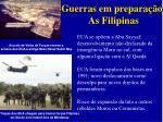 guerras em prepara o as filipinas