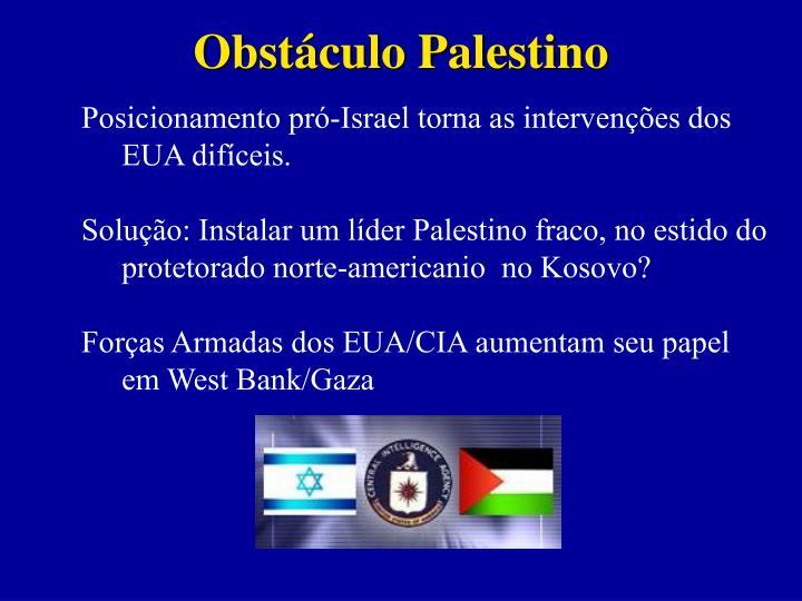 Obstáculo Palestino