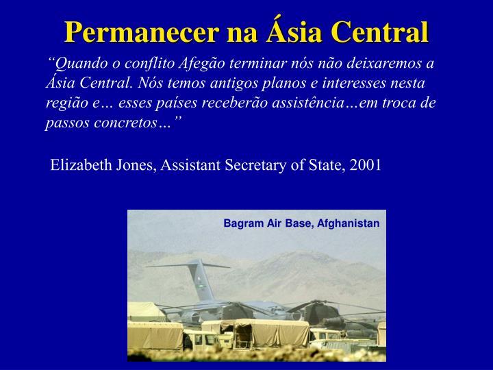 Permanecer na Ásia Central