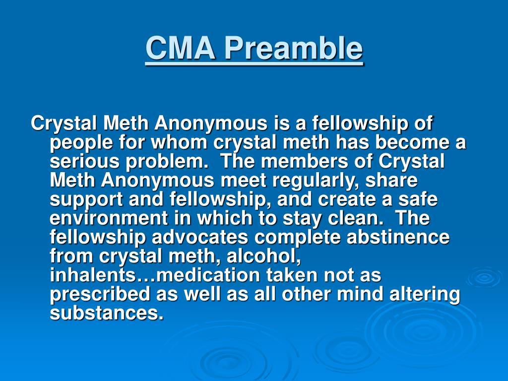CMA Preamble