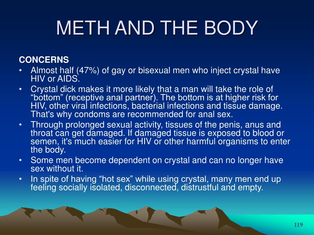 METH AND THE BODY