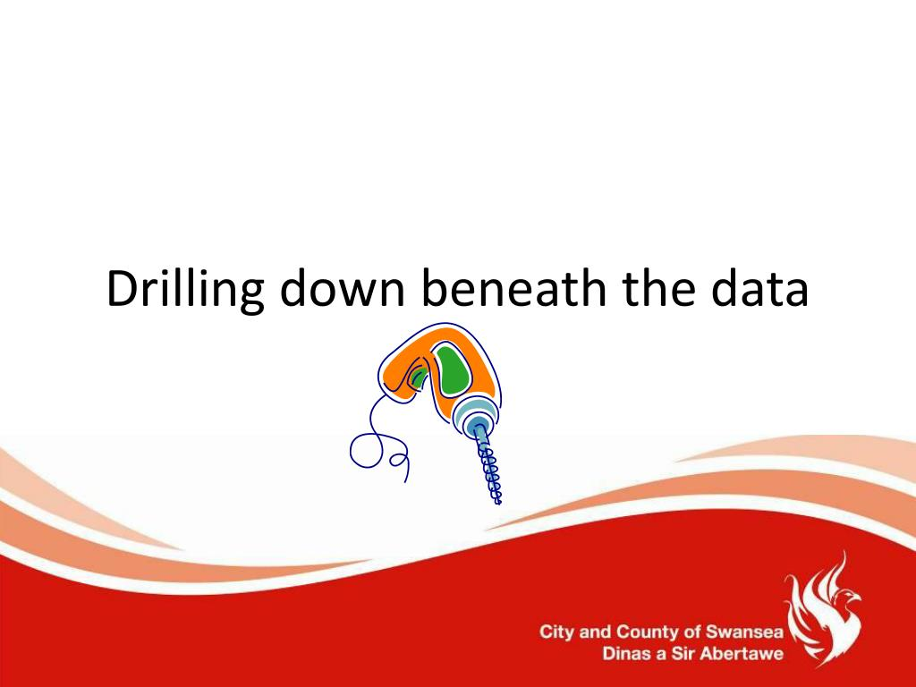 Drilling down beneath the data