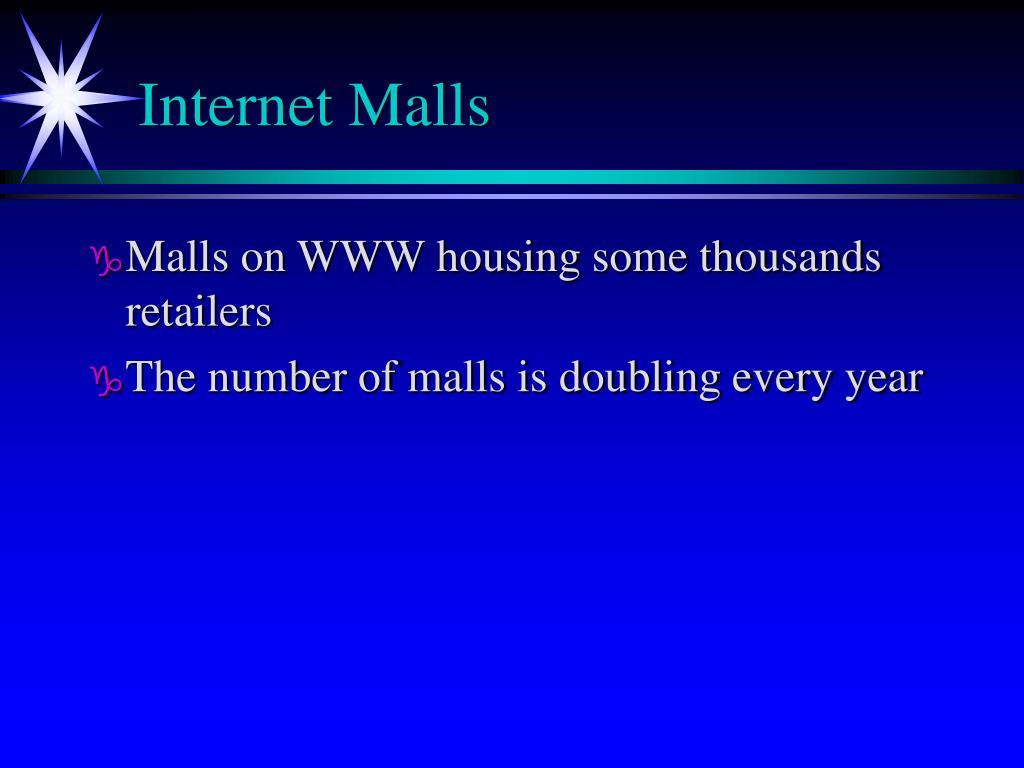 Internet Malls