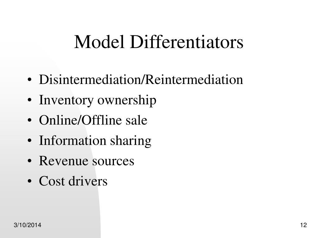 Model Differentiators