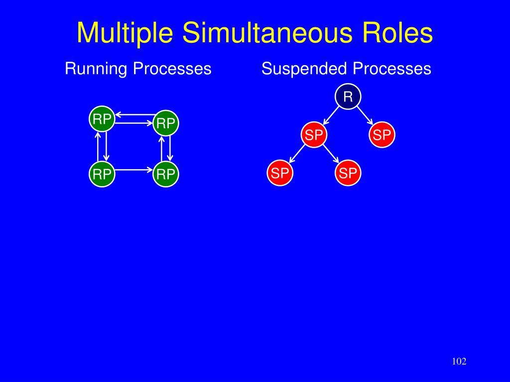 Multiple Simultaneous Roles