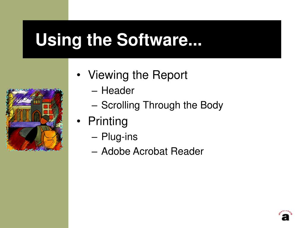 Using the Software...