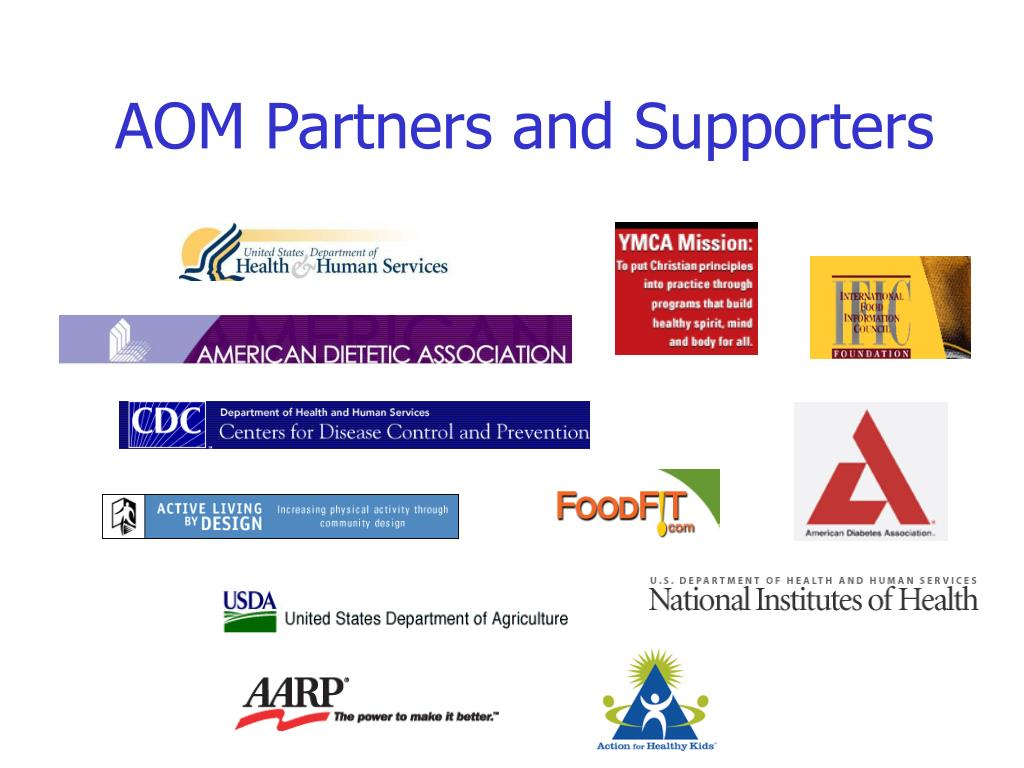 AOM Partners and Supporters