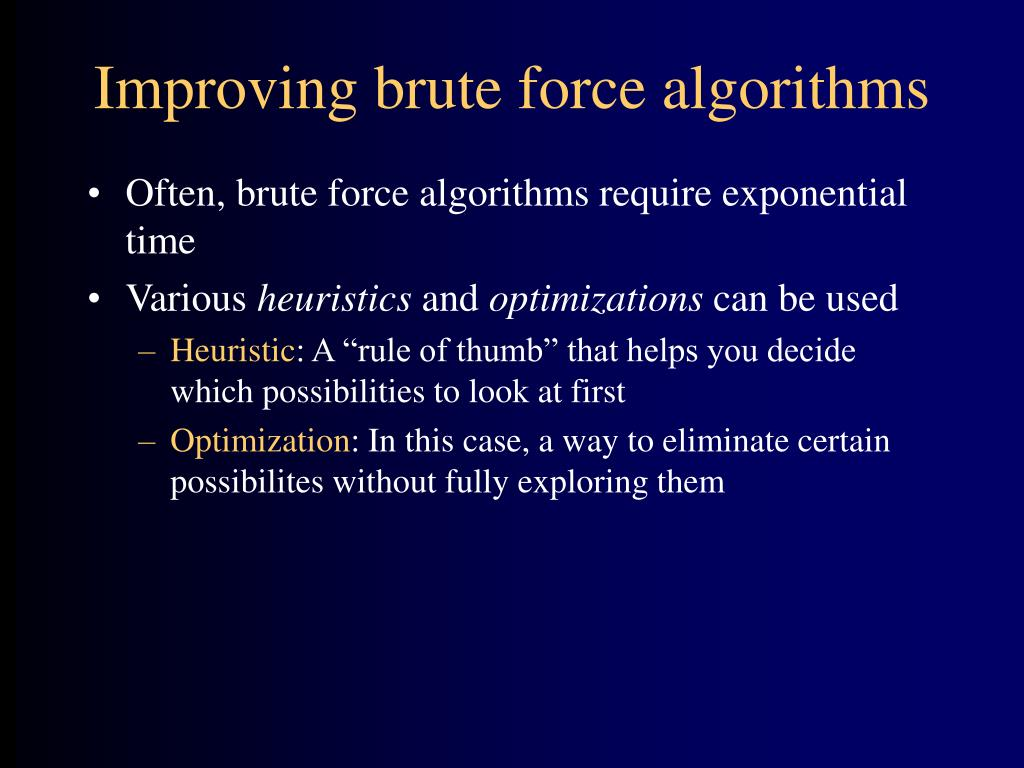 Ppt Types Of Algorithms Powerpoint Presentation Id 150189