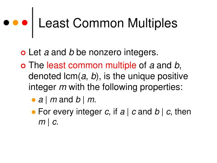 Least common multiples l.jpg