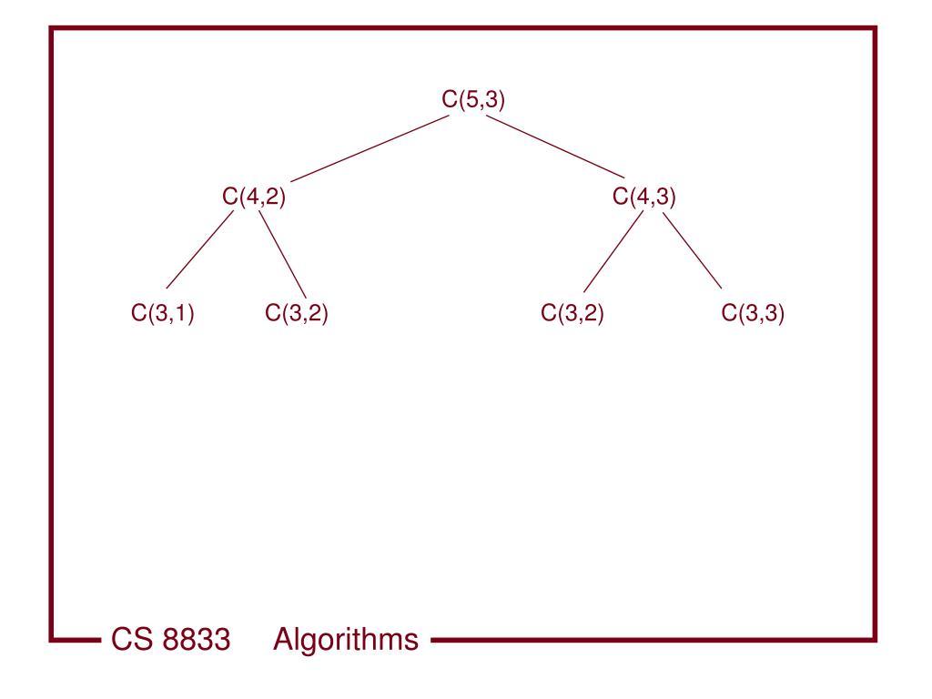 C(5,3)