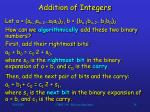 addition of integers34