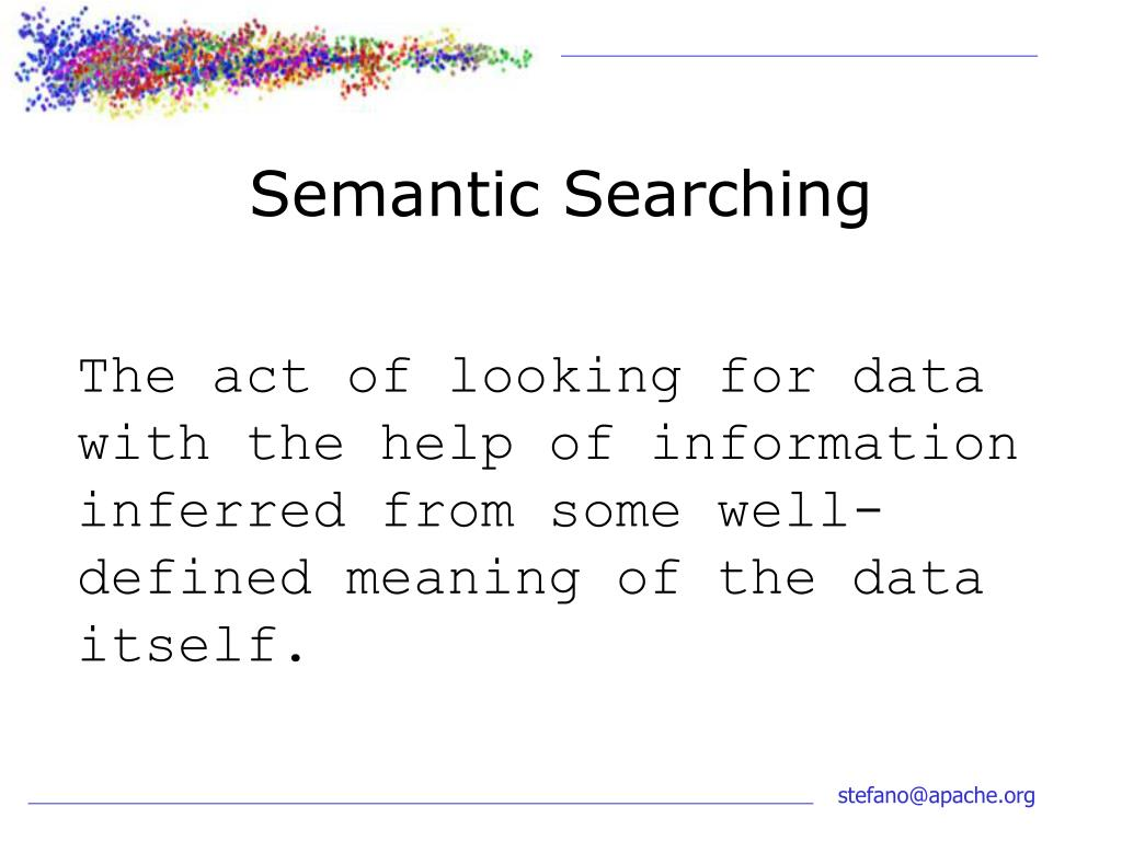 Semantic Searching