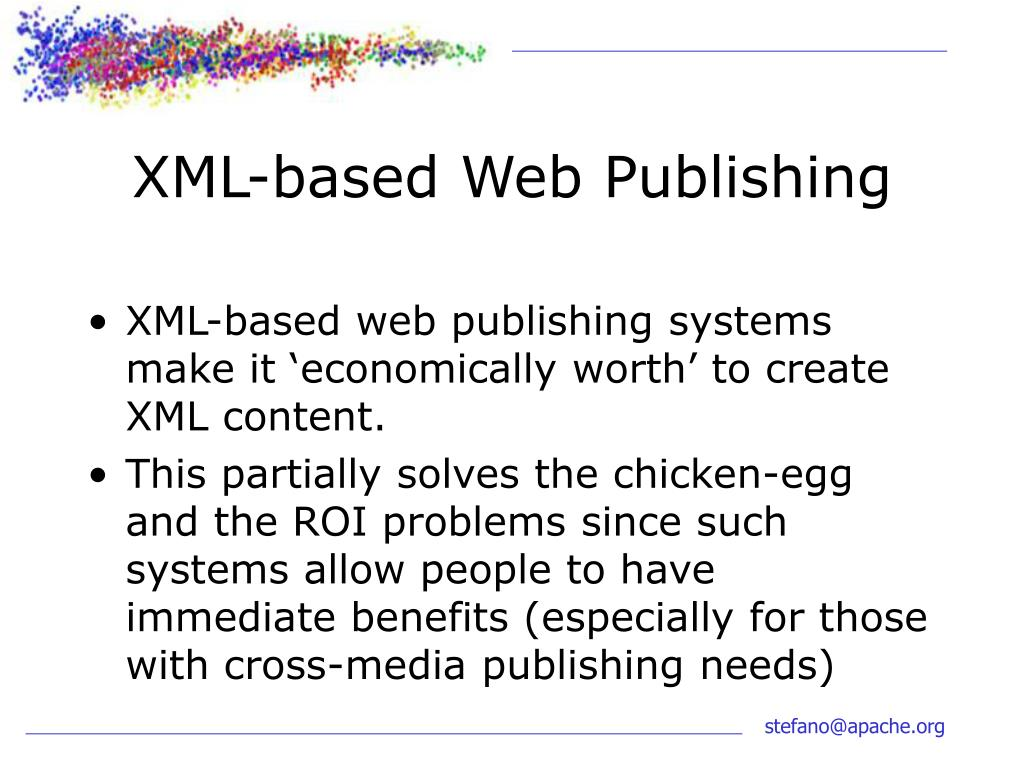 XML-based Web Publishing