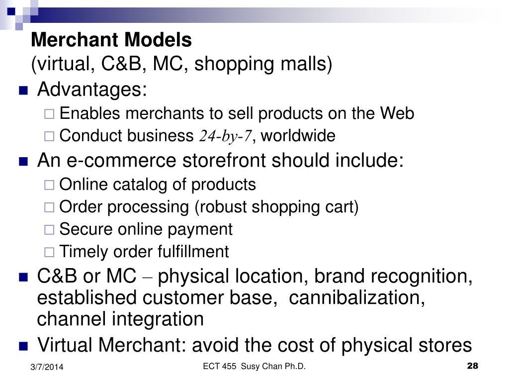 Merchant Models