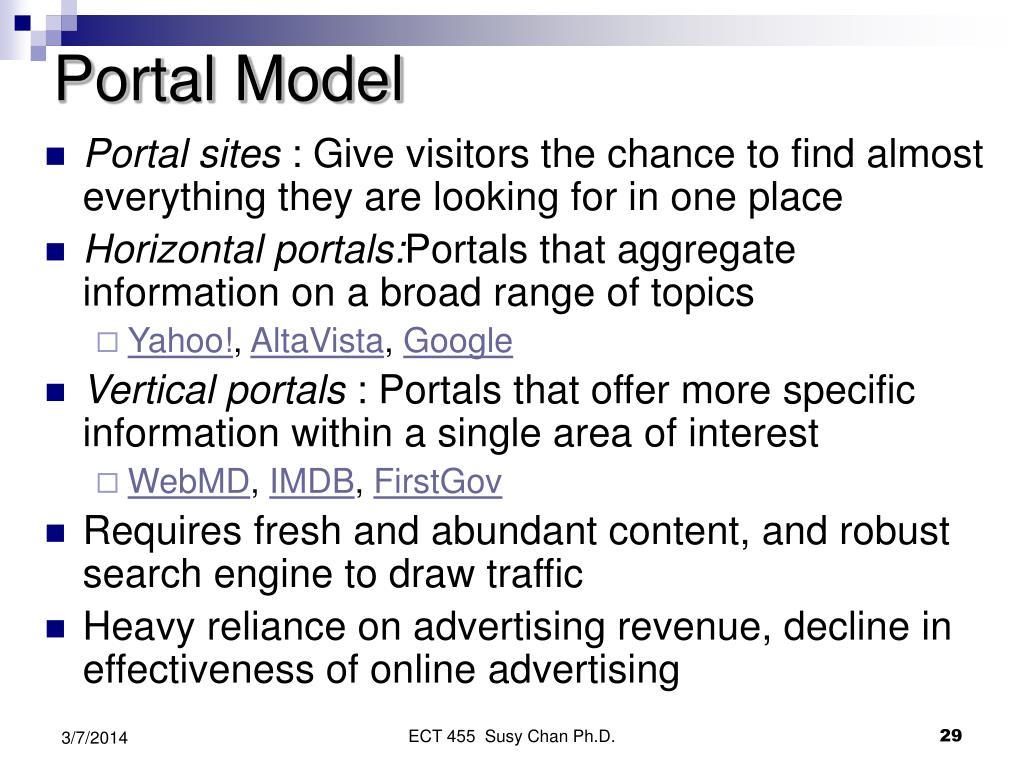 Portal Model