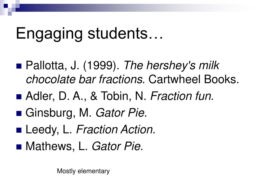 Engaging students…