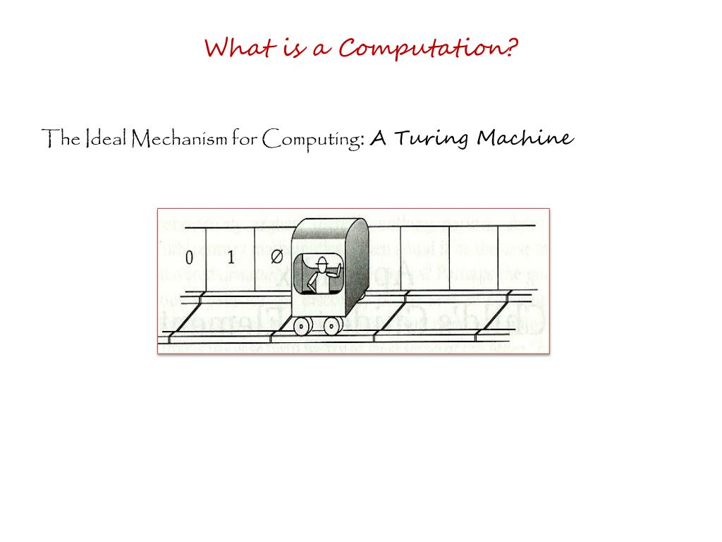 What is a Computation?