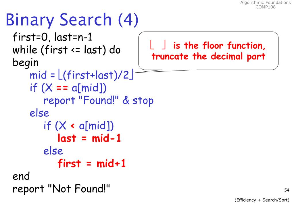 Binary Search (4)