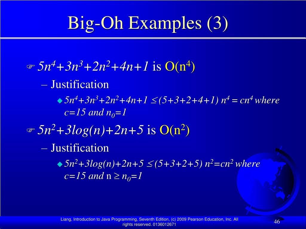 Big-Oh Examples (3)