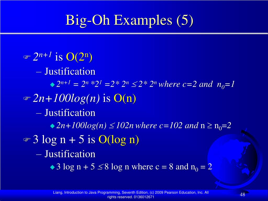 Big-Oh Examples (5)