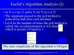 euclid s algorithm analysis 2