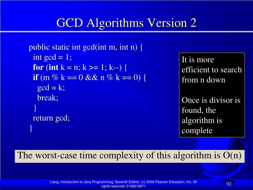 GCD Algorithms Version 2