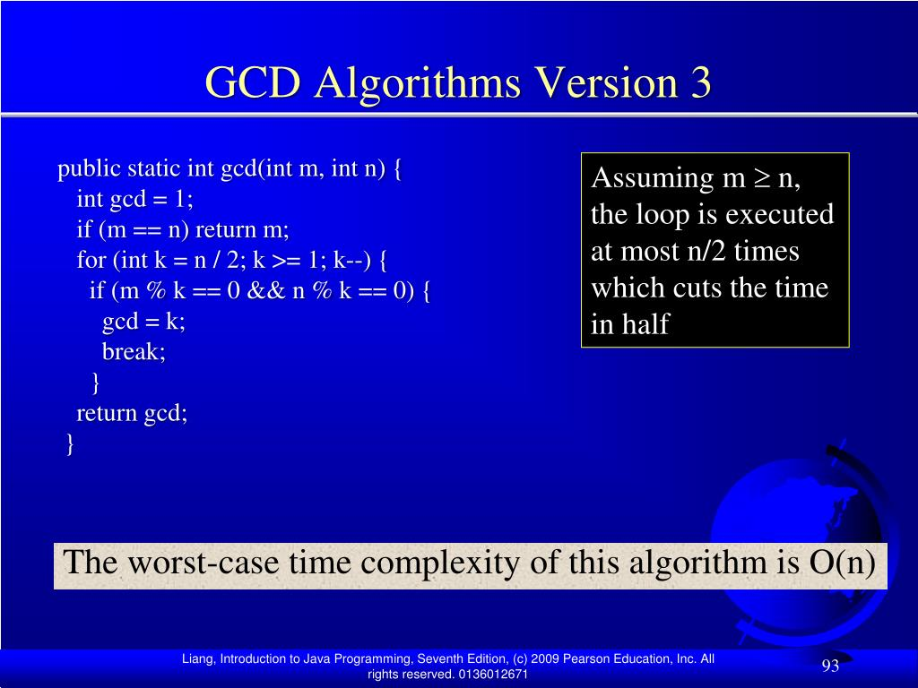 GCD Algorithms Version 3