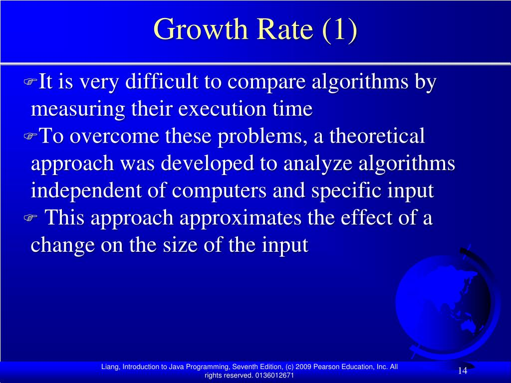 Growth Rate (1)